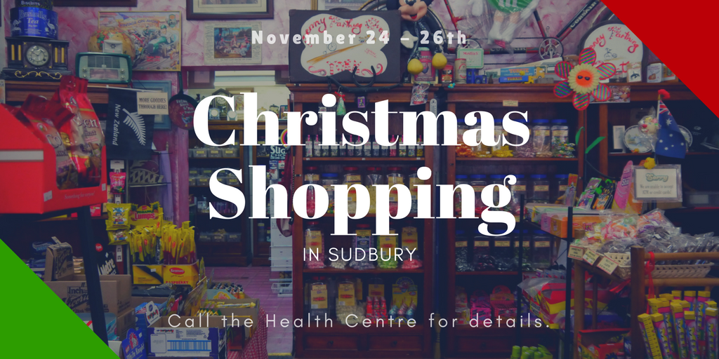 Christmas Shopping in Sudbury