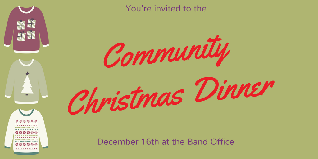 Community Christmas Party @ Band Office