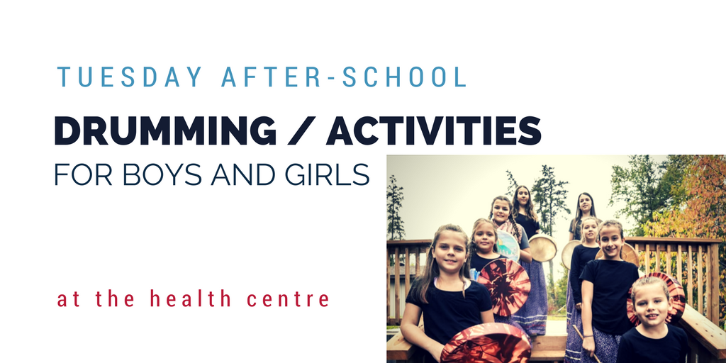 Drumming - Girls and Boys @ Health Centre & Turtle Lodge